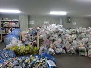 2013年正月の集積所